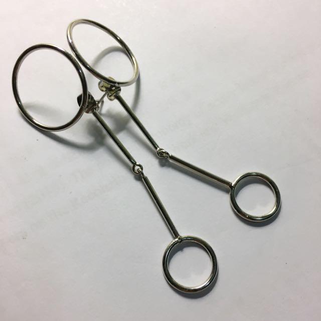 垂吊式耳環