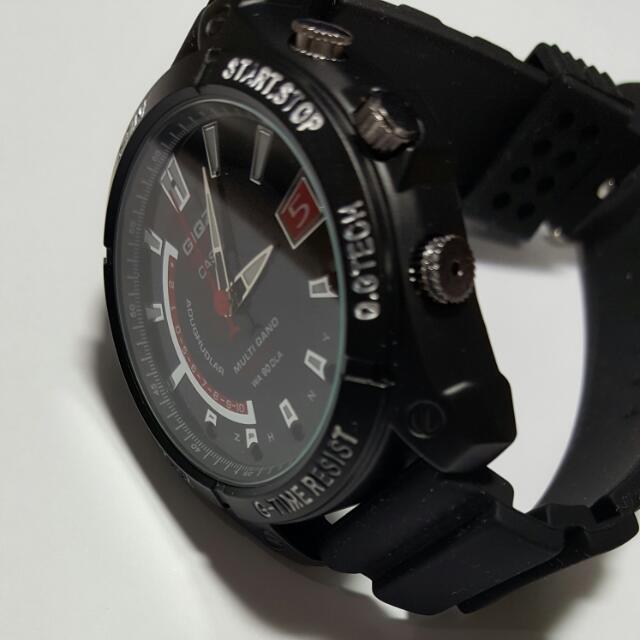시계 캠코더  (휴대용 블랙박스)