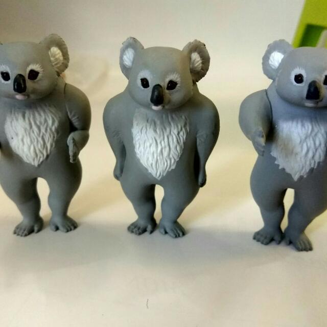排隊 無尾熊 扭蛋 轉蛋(無紙)(一隻60)