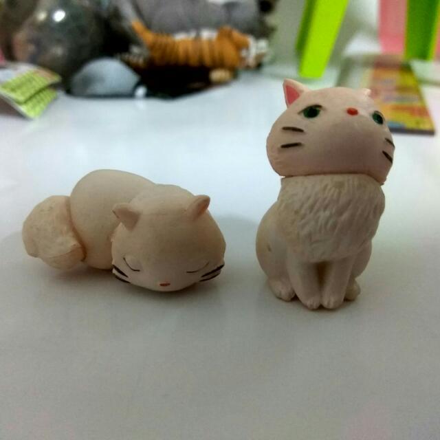 宮崎駿 魔女宅急便 白貓 盒玩 扭蛋(一個60)