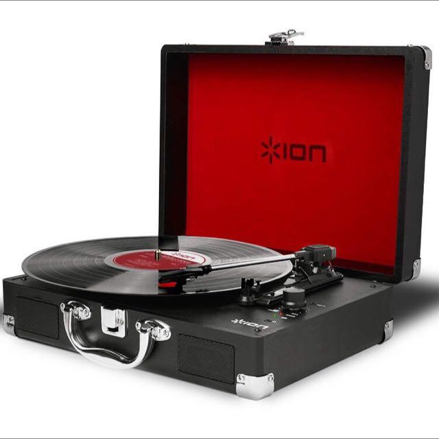 全新 ION Audio Vinyl Motion黑膠唱片機