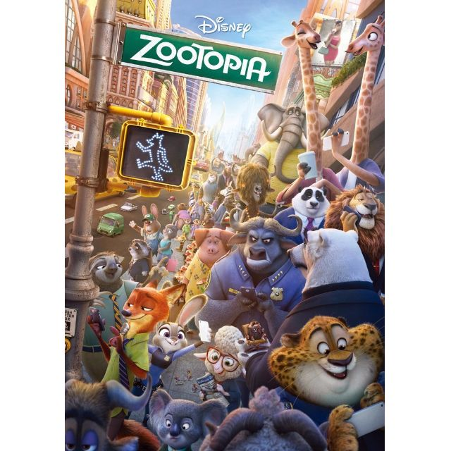 海外代購 日本Tenyo迪士尼  動物方程式300片