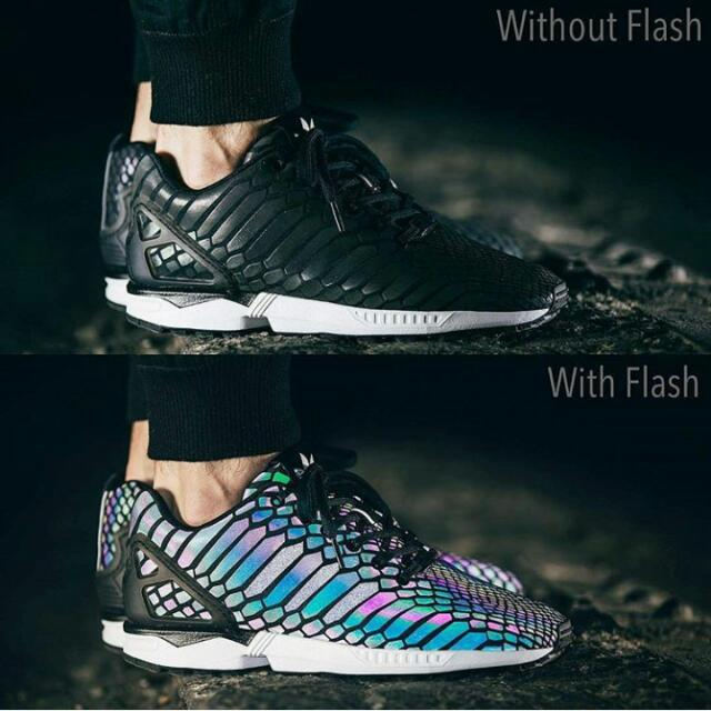 sports shoes df0fb 3cccc ADIDAS ZX FLUX XENO REFLECTIVE, Men's Fashion, Men's ...