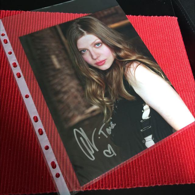 Amber Benson 8X10 Autograph Headshot