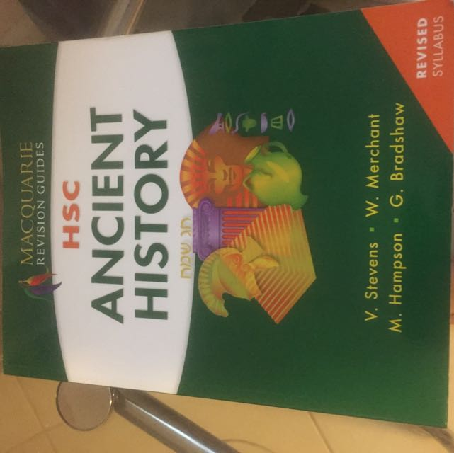 Ancient History HSC revision Guide
