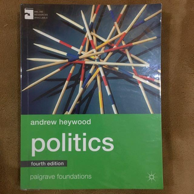 Politics (4th Edition) (Palgrave Foundations)