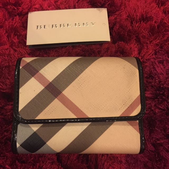 Authentic Burberry Short Purse
