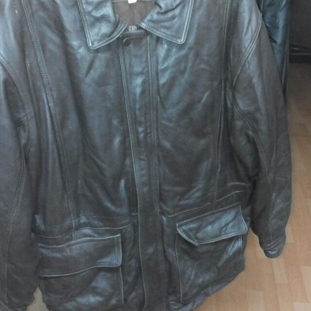 Bill Blade Leather Jacket
