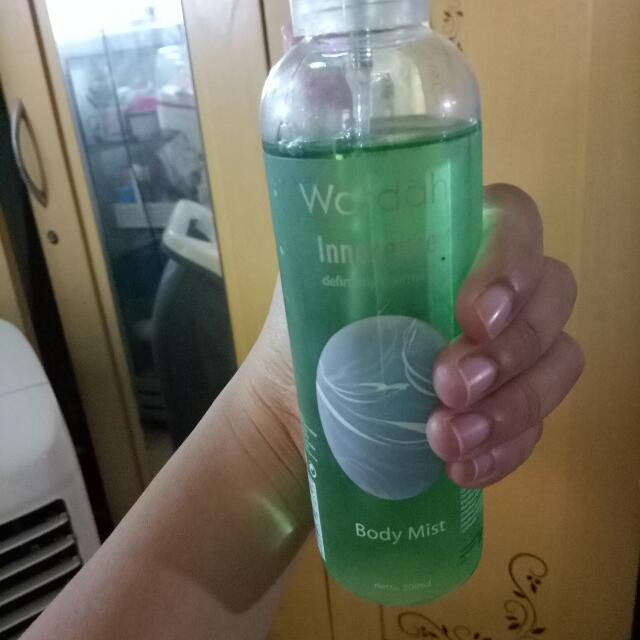 Body Mist Wardah Ennocence