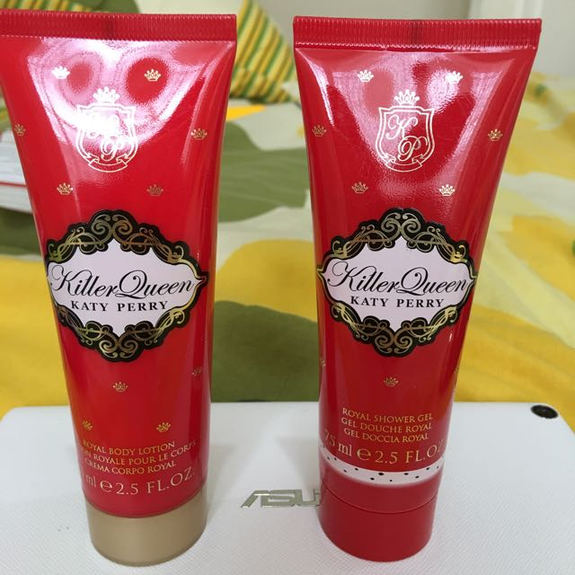Body Shower And Body Lotion Kathy Perry 75ml