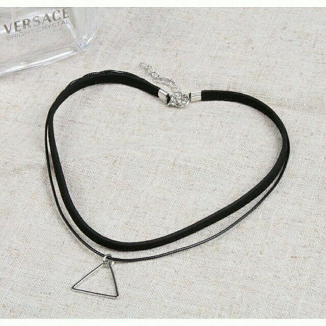BRAND NEW double stranded Choker SILVER