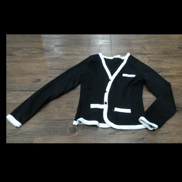 Cardigan Korea Spandek Knit Tebal