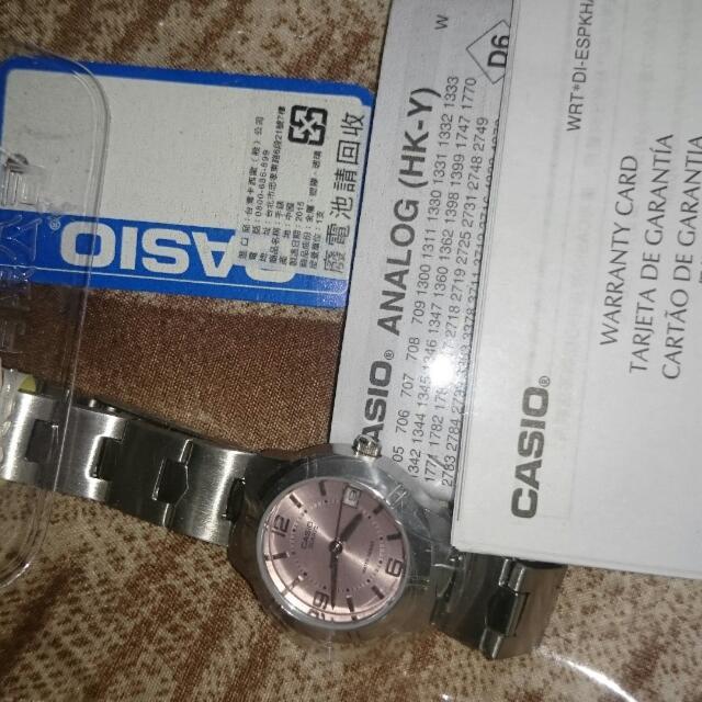 Casio Watch New