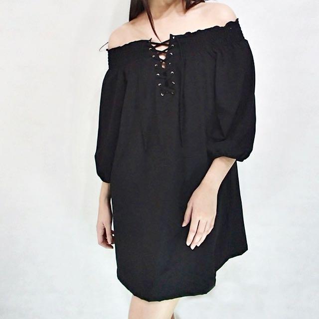 Cece Off Shoulder Dress