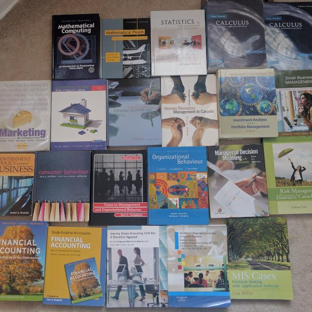 Cheap Textbooks: Business, Management, Accounting, Math, etc.