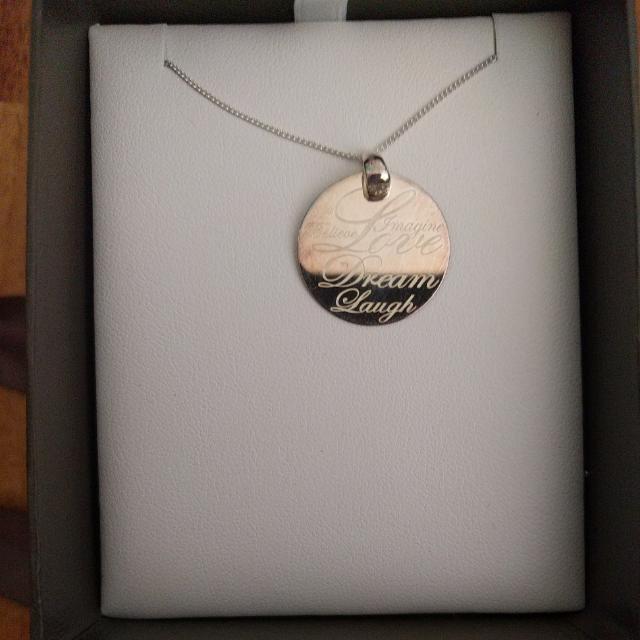 Circle Love Pendant Necklace