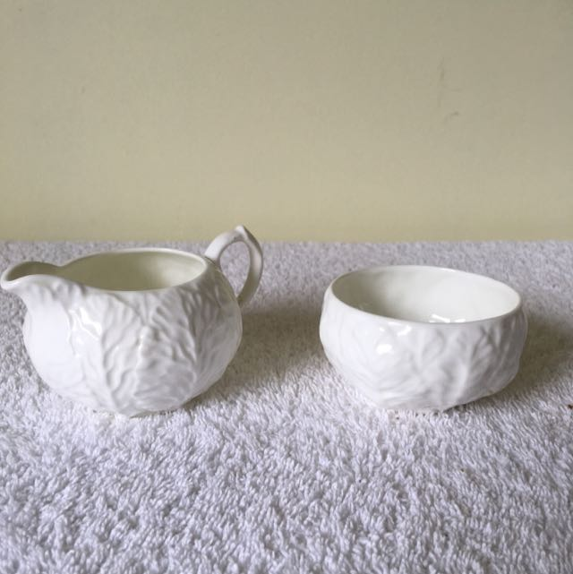 Coalport Bone China Sugar And Cream Set