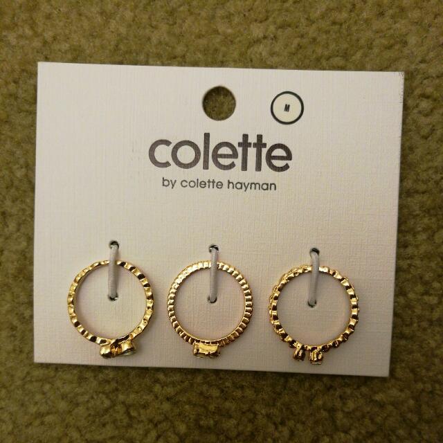 Colette 3 Ring Set