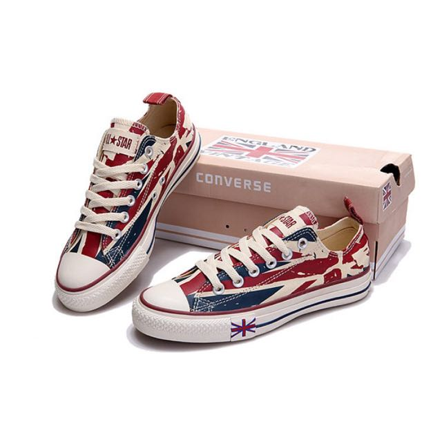 57bb9be6d896 Converse  LIMITED EDITION  All Star British Flag High Low Cut ...