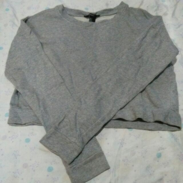 Forever21 Crop Sweater