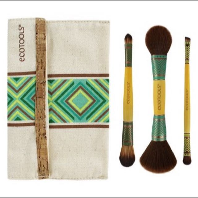 EcoTools, BoHo Luxe Duo Brush Set, Limited Edition限定色四件組