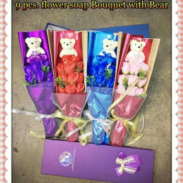Flower Soap Boquet