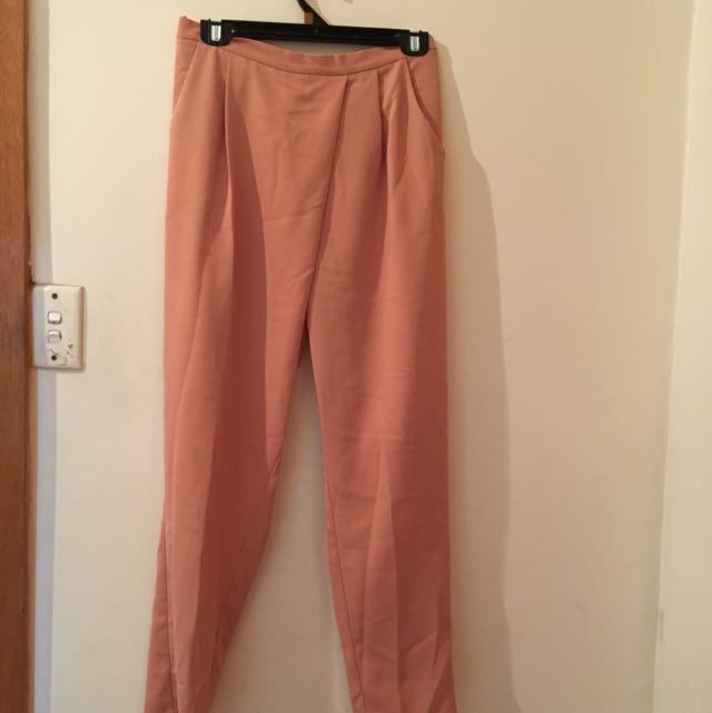 FORECAST Peach pants