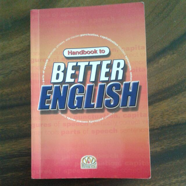 Handbook To Better English