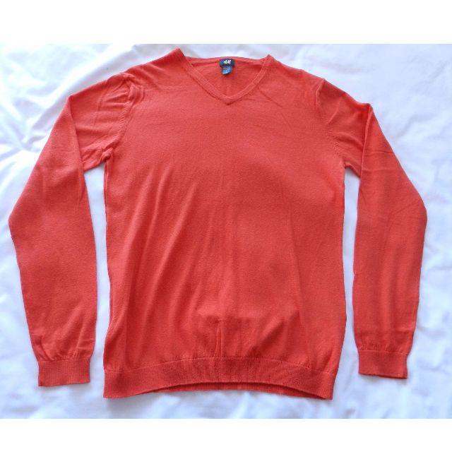 H&M Orange Pull Over Sweater [Medium