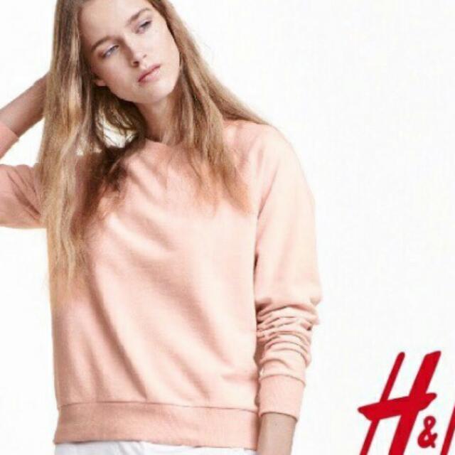 H&M Sweatshirt Powderpink