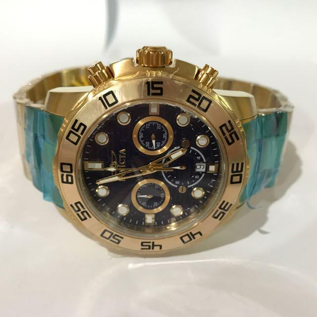 Invicta Chronograph Steel Watch