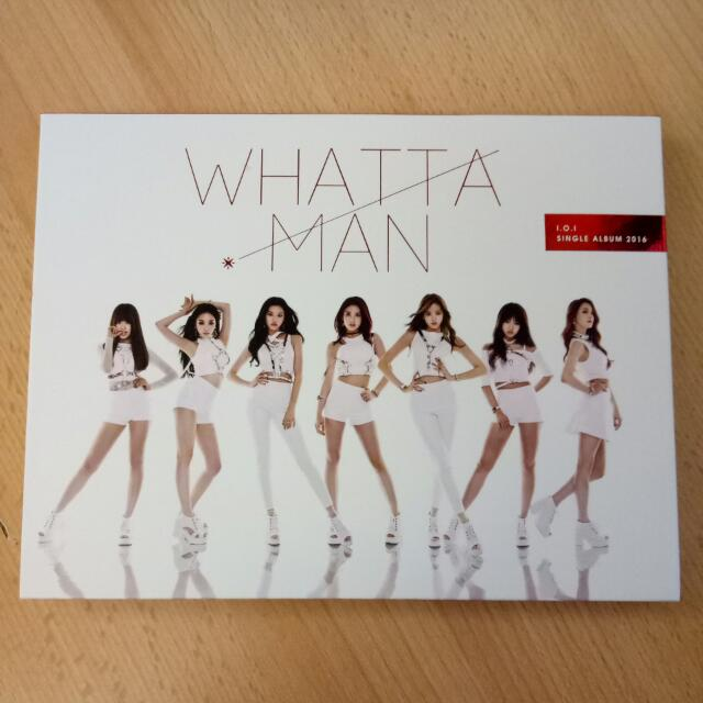 I.O.I WHATTA MAN ALBUM