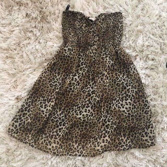 Jay Jays; Leopard print summer dress