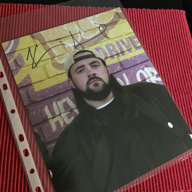 Kevin Smith 8X10 Autographed Headshot