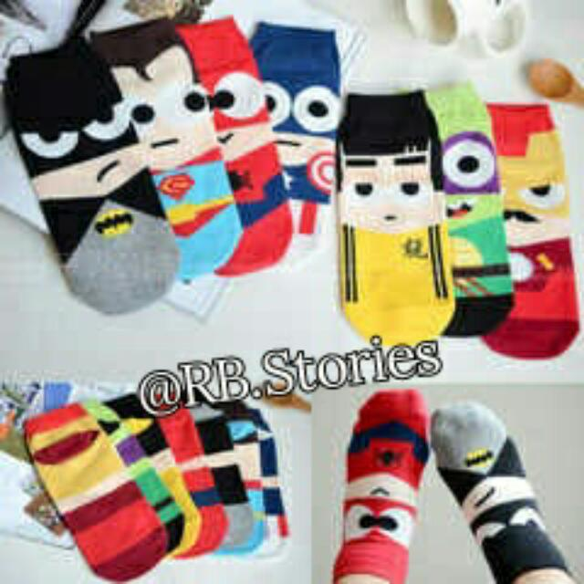 Korean Sock Heroes Series