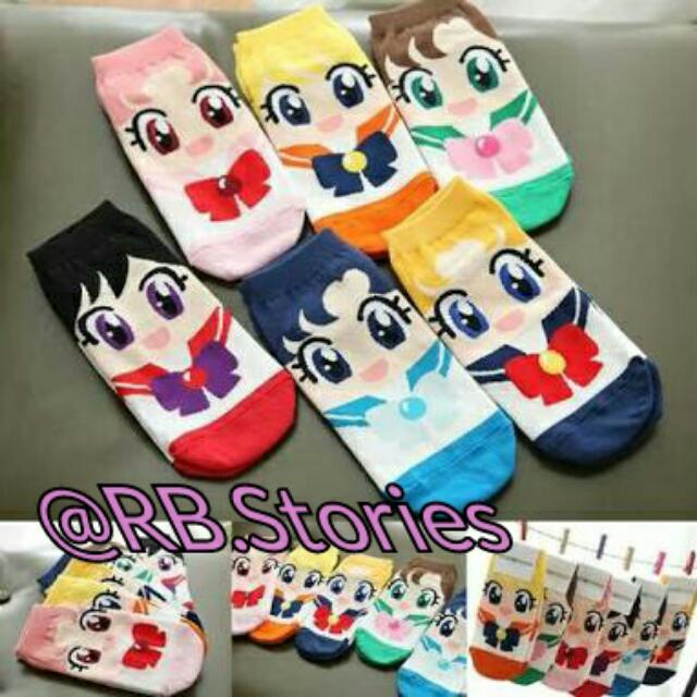Korean Socks Sailormoon Series