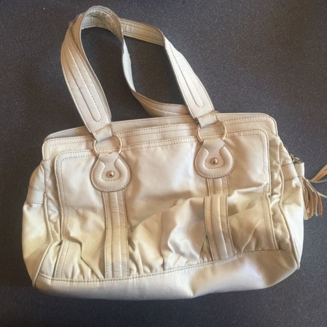 Light Cream French Connection Bag