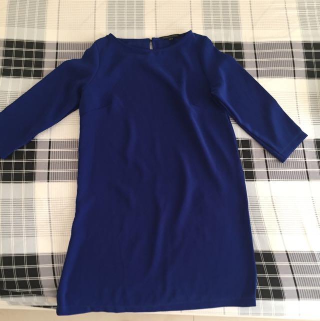 Lookboutique Blue Dress