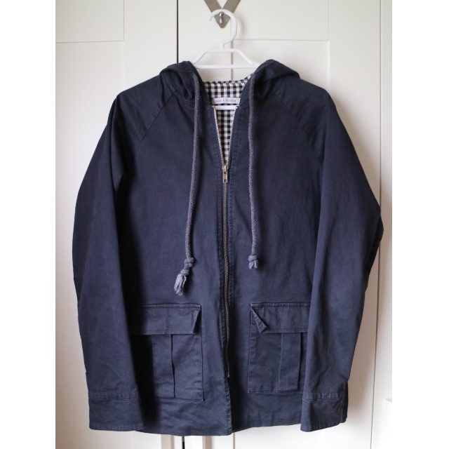 Luck & Trouble Navy Jacket