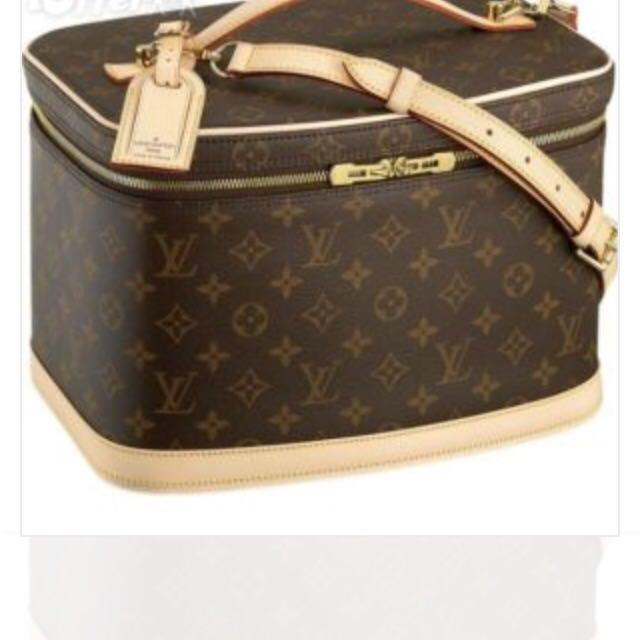 LV Make Up Bag Case Monogram