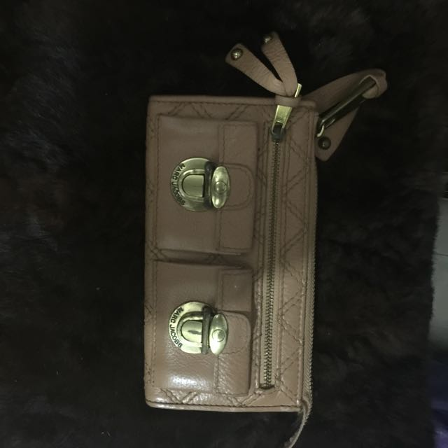 Marc Jocabs Wallet Leather