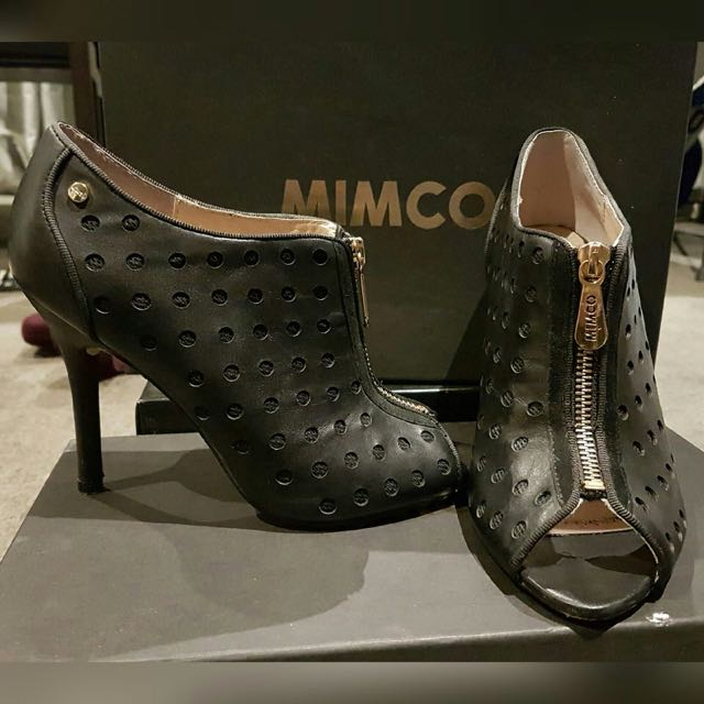 MIMCO Mechanica Shoetie Boot Heels