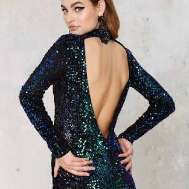 Nastygal Sequin Dress