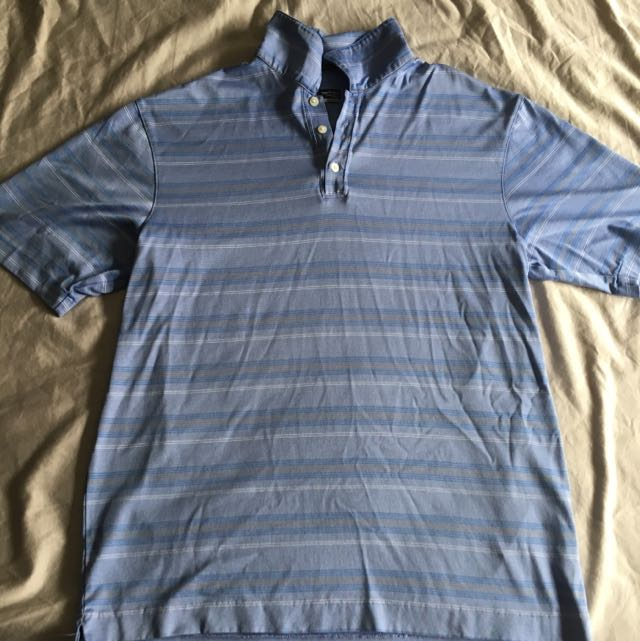 NIKE Golf Polo Size Medium - Tiger Woods