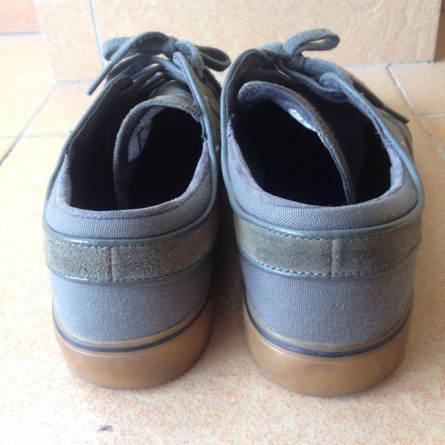 86737d6c4eb1 Nike SB Stefan Janoski Dark Base Grey Black (Gum Sole)