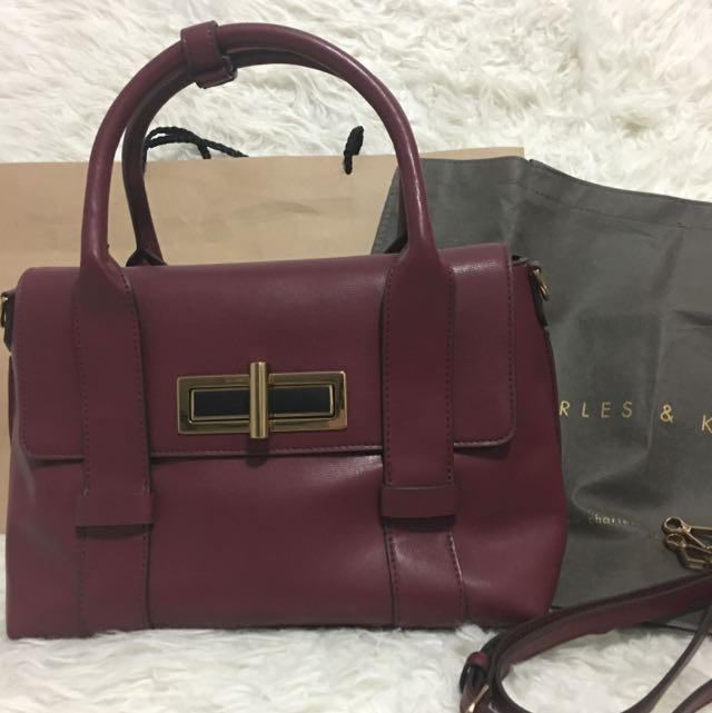Original Charles & Keith Hand Bag