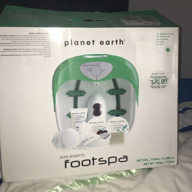 Planet earth foot Spa