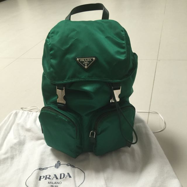 Prada Back Pack Model 1BZ024