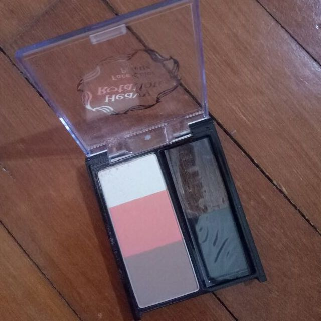 Preloved 95% Heavy Rotation Jpn Contour Blush Palette