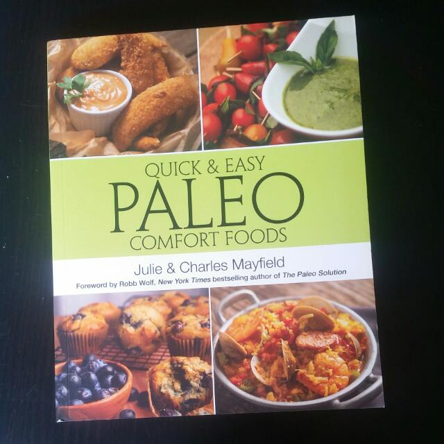 Quick And Easy Paleo Comfort Foods Cookbook. As New! Selling Cheap